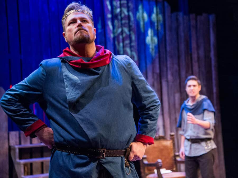 Fathers, Sons, and Dynastic Struggle: HENRY IV, PART I at Chesapeake Shakespeare Company