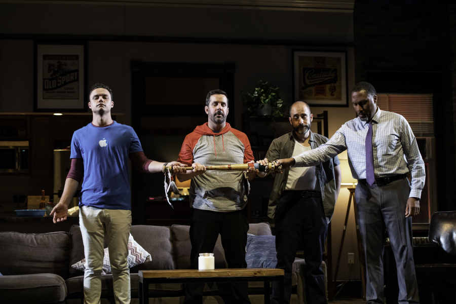 The Guys Are Alright: SUPPORT GROUP FOR MEN at Contemporary American Theater Festival