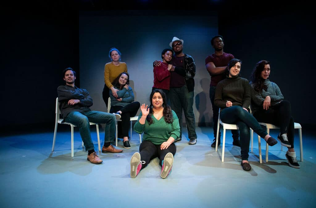 A Frosty but Comic Take on LOVE AND INFORMATION at Fells Point Corner Theatre